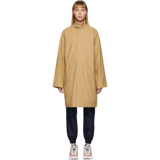 Photo: Won Hundred Beige Boston Logo Coat