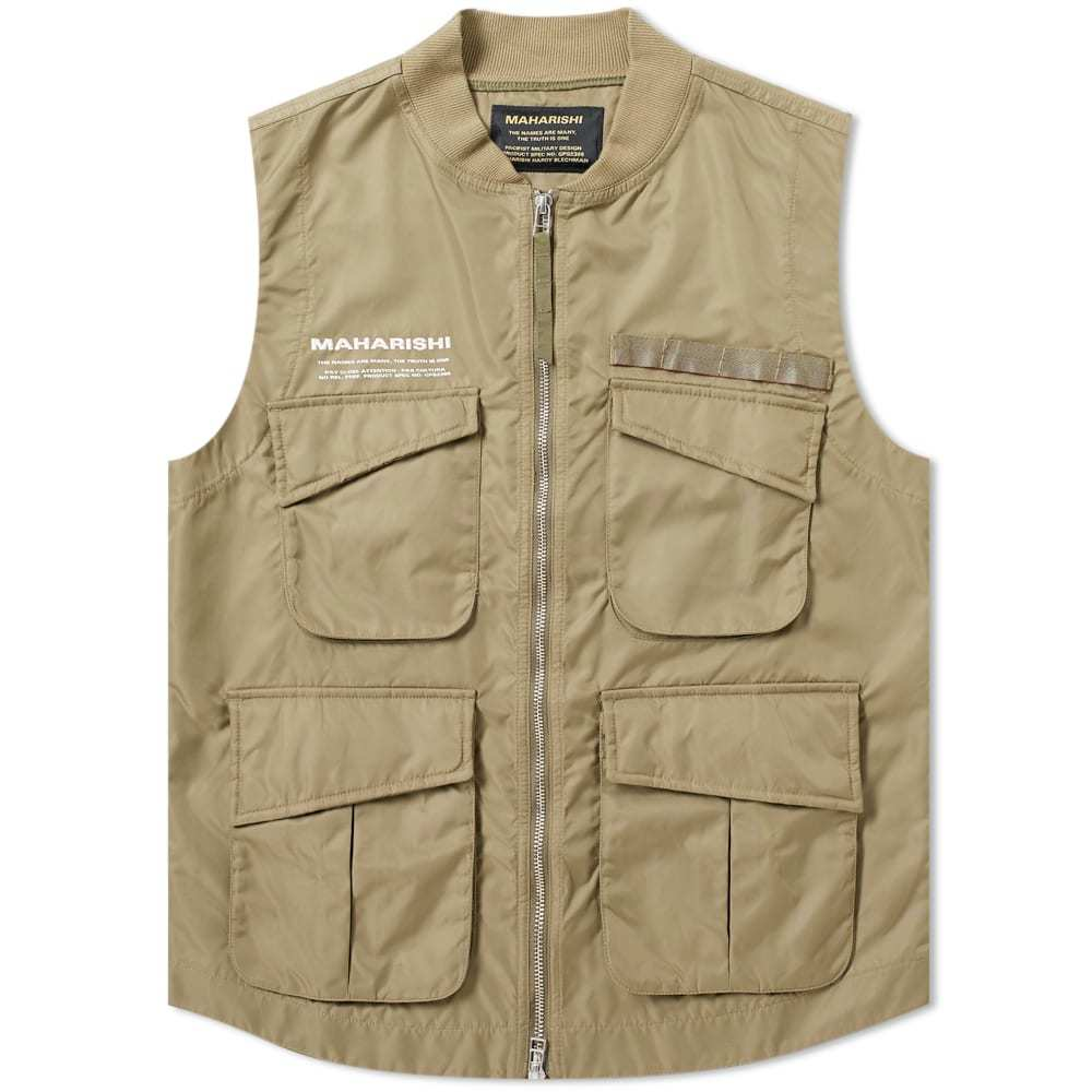Photo: Maharishi x XL Recordings Utility Vest