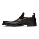 Martine Rose Black Square Toe Boot Loafers