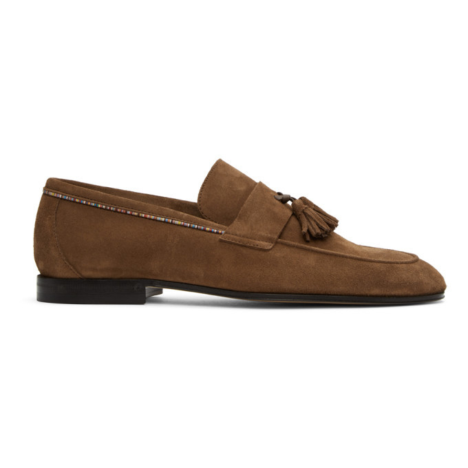 Photo: Paul Smith Brown Suede Hilton Loafers