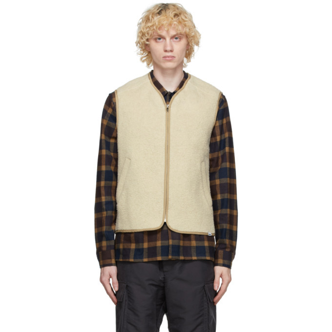 Photo: Wood Wood Beige Victor Vest