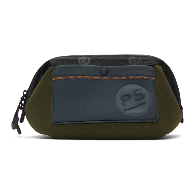 Photo: PS by Paul Smith Khaki Neoprene Wash Bag