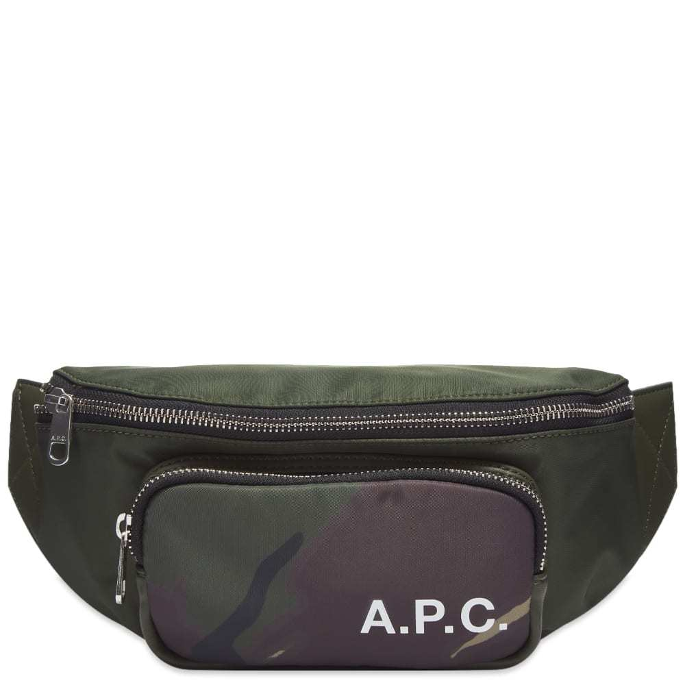 Photo: A.P.C. Camden Camo Waist Bag