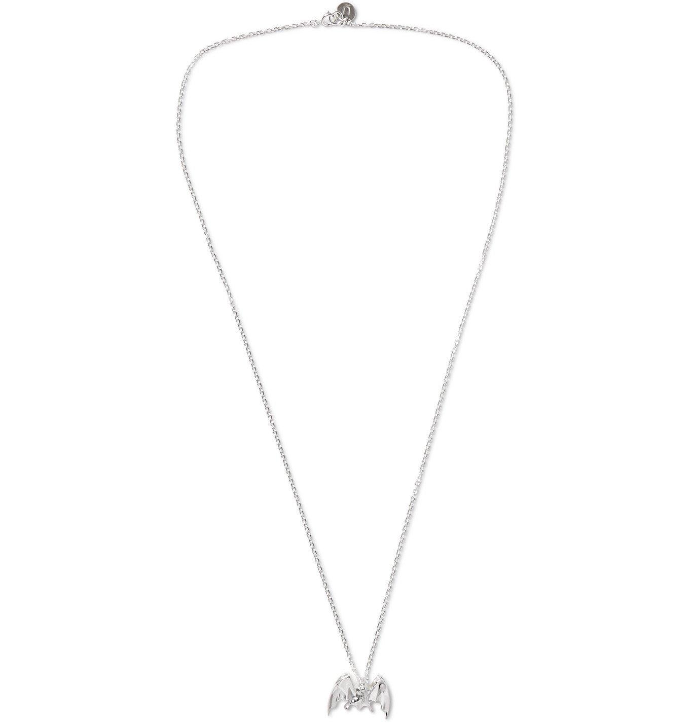 Photo: Undercover - Bat Silver Necklace - Silver