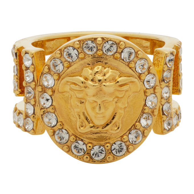 Versace Gold Icon Medusa Ring