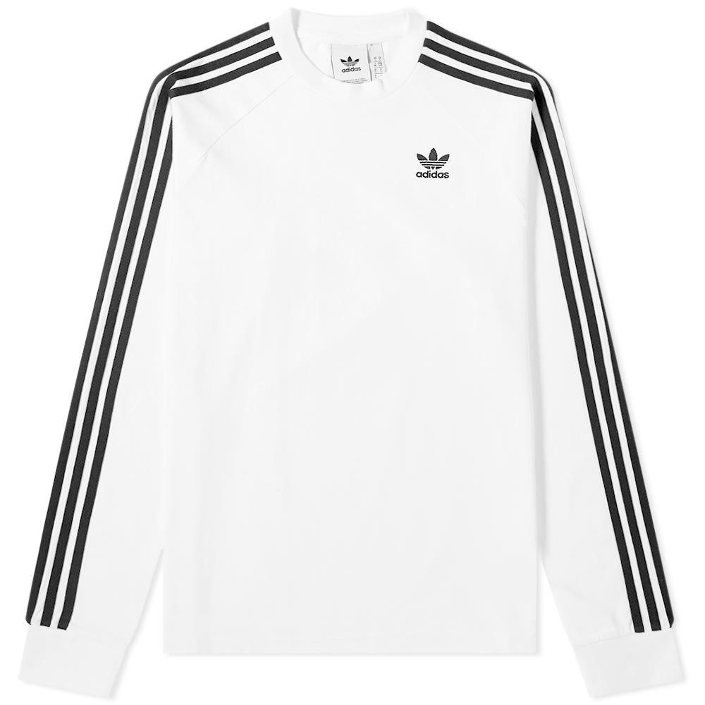 Photo: Adidas Long Sleeve 3-Stripe Tee