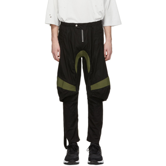 Photo: Unravel Black Cotton Motorcross Trousers