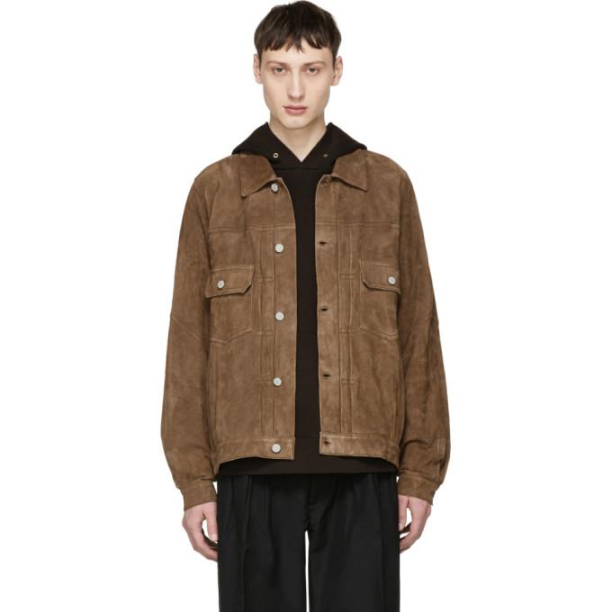 Photo: Visvim Brown Jumbo 101 Leather Jacket