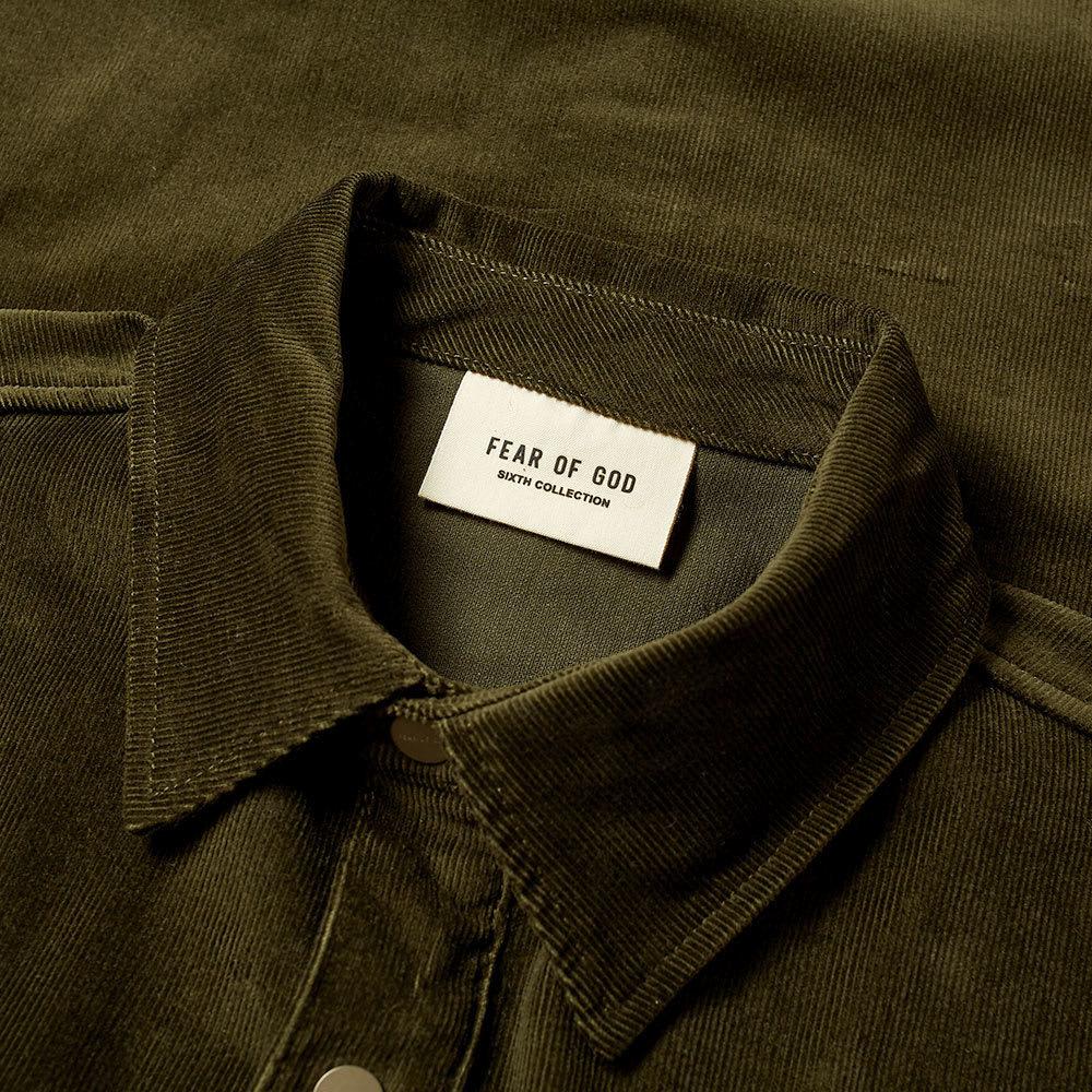Fear of God Vintage Cord Overshirt