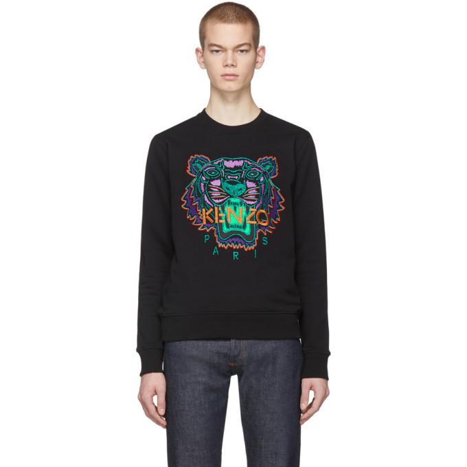 Photo: Kenzo Black Limited Edition Holiday Tiger Sweatshirt
