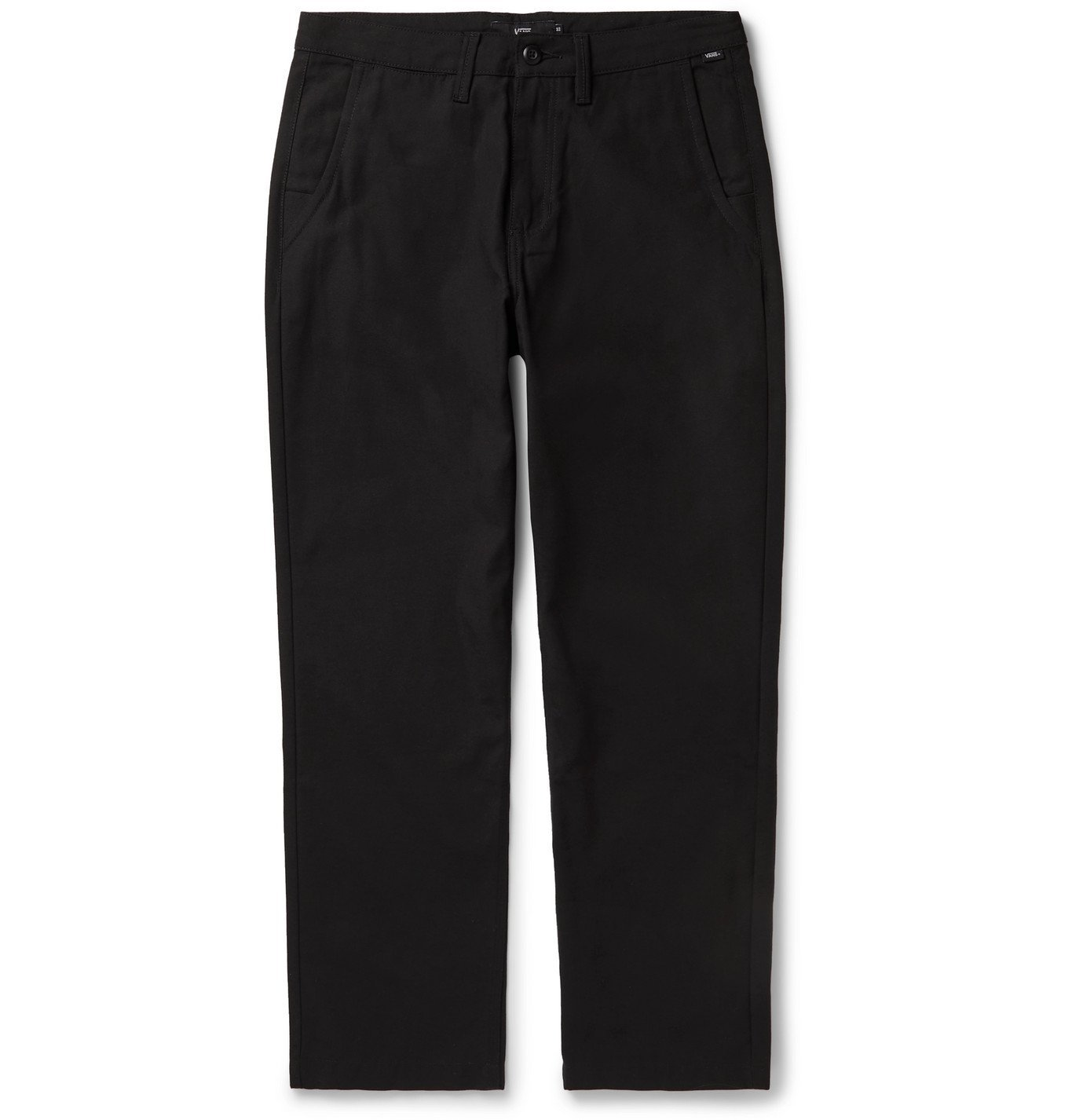 Photo: Vans - Cotton-Canvas Chinos - Black