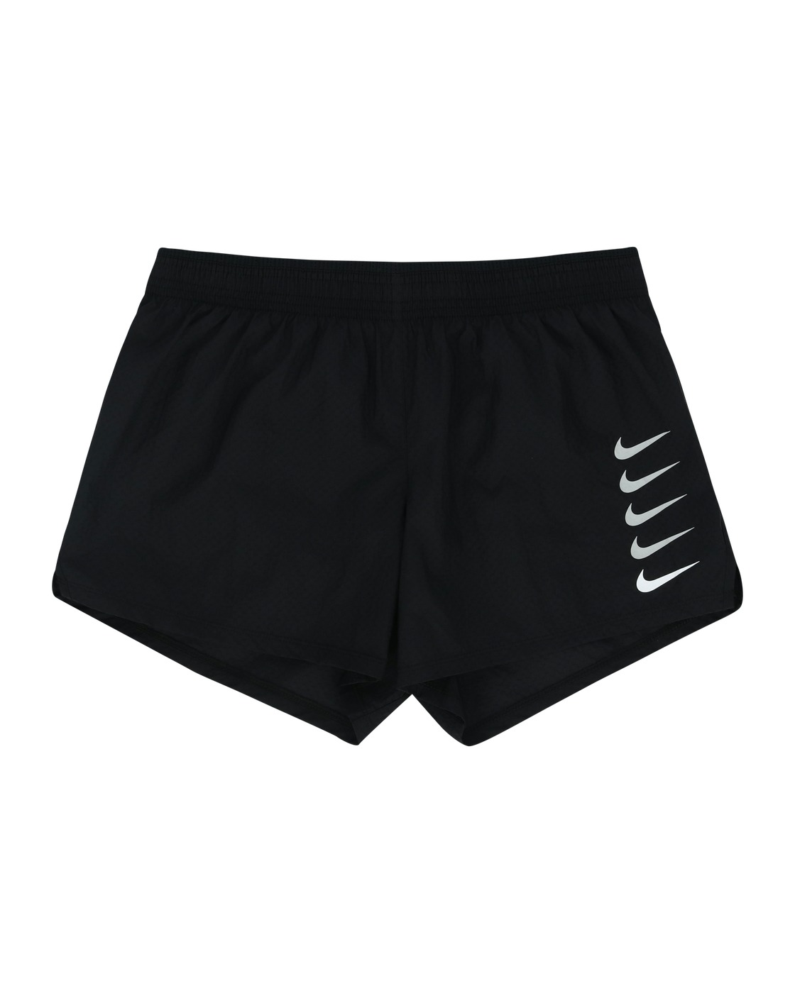 Photo: Nike Swoosh Run Shorts Black/White