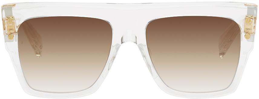 Photo: Balmain Transparent Akoni Edition B‐I LTD Sunglasses
