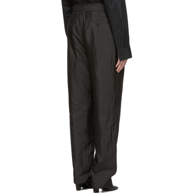 Lemaire Indigo Pleated Trousers