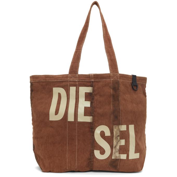Photo: Diesel Brown Granyto Shopper Tote