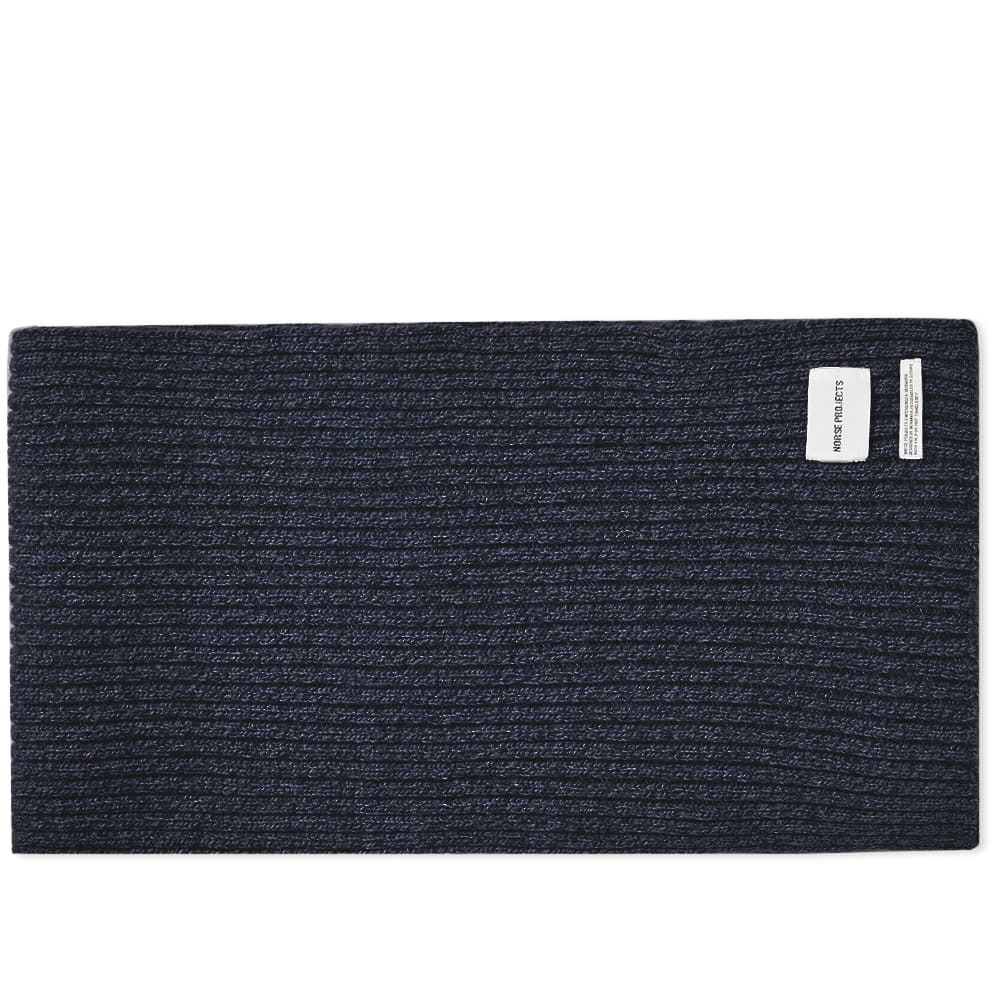 Photo: Norse Projects Wide Rib Scarf