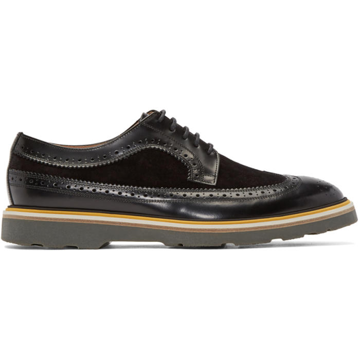 Photo: Paul Smith Black Leather Grand Brogue