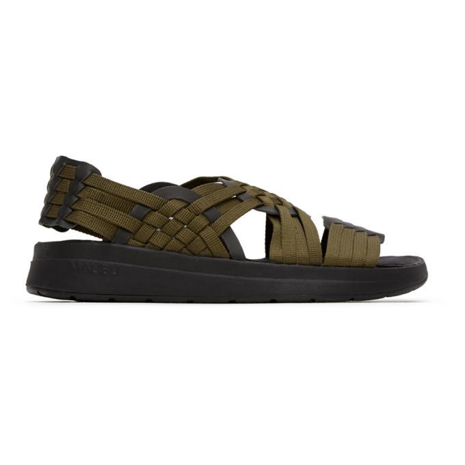 Photo: Malibu Sandals Khaki and Black Canyon Sandals