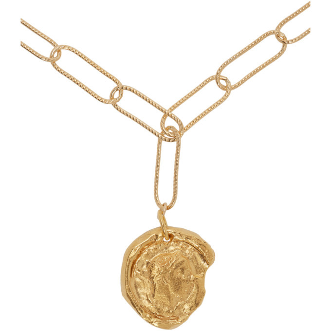 Alighieri Gold The Peacekeeper Necklace