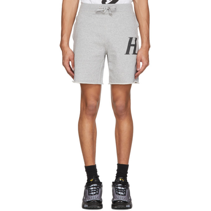 Photo: Helmut Lang Grey Masc Sweat Shorts