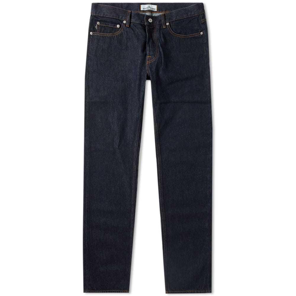 Photo: Stone Island Regular Taper Fit Jean