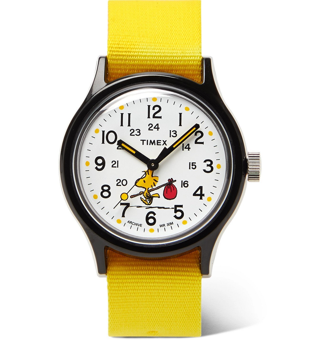 Photo: Timex - Peanuts MK1 36mm Resin and NATO Watch - Yellow