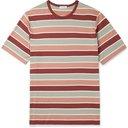 Sunspel - Striped Cotton-Jersey T-Shirt - Multi