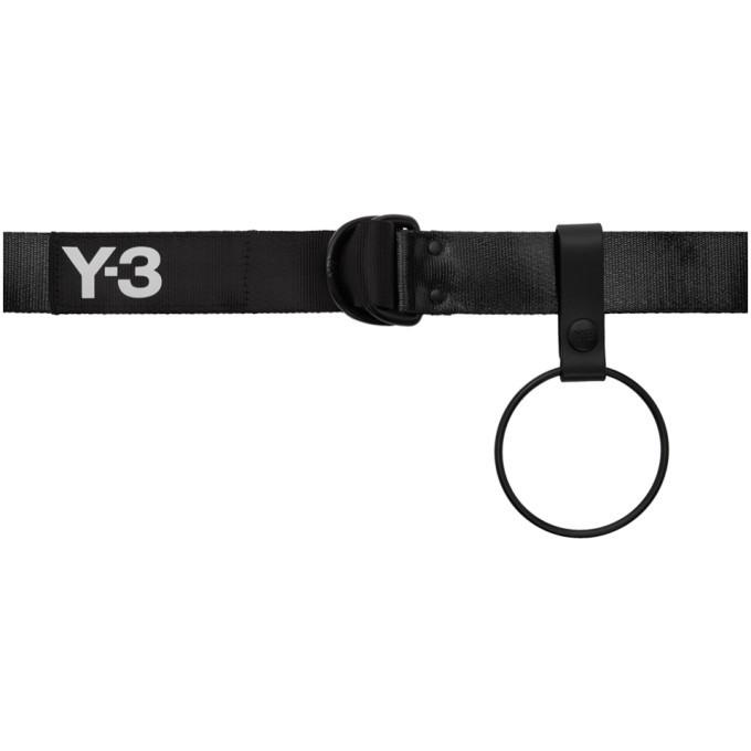 Photo: Y-3 Black Hook Belt
