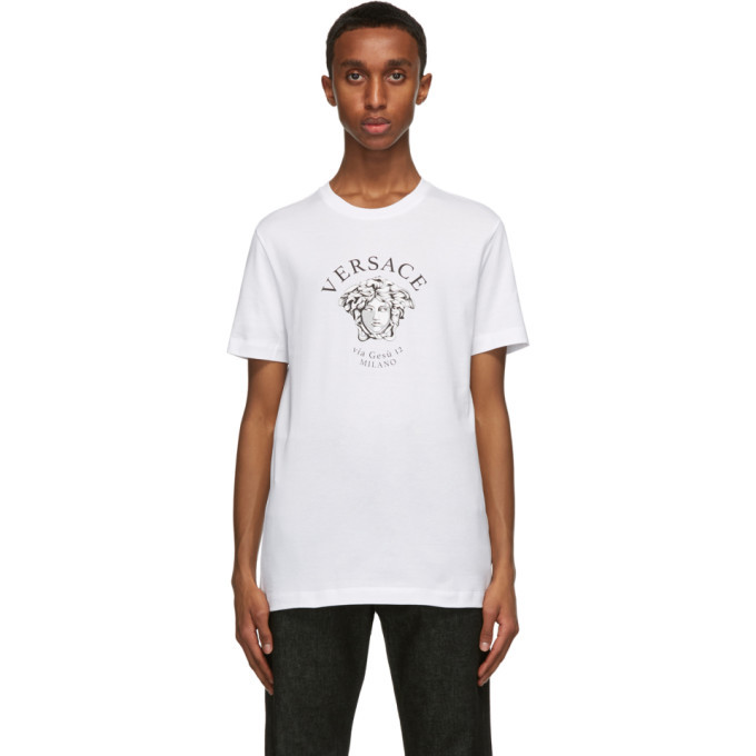 Photo: Versace White Medusa T-Shirt