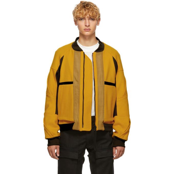 Photo: Abasi Rosborough Yellow Limited Edition Rover Flight Arc Jacket