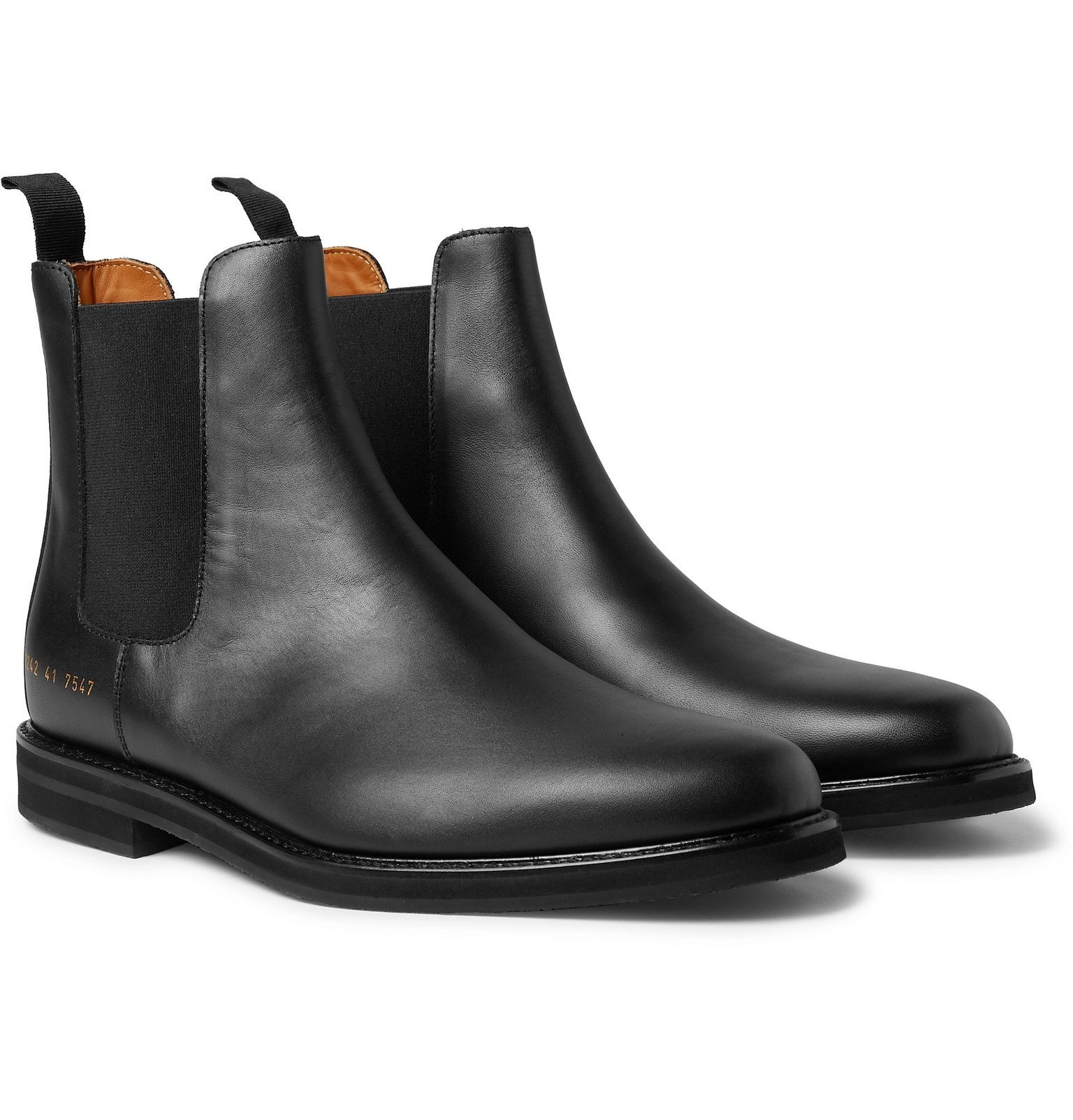 Photo: Common Projects - Leather Chelsea Boots - Black