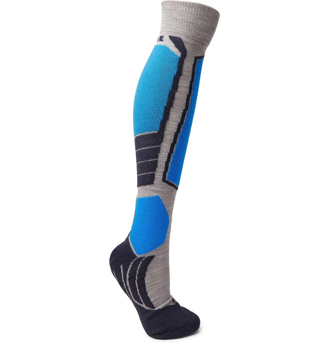 Photo: FALKE Ergonomic Sport System - SK2 Stretch-Knit Socks - Gray