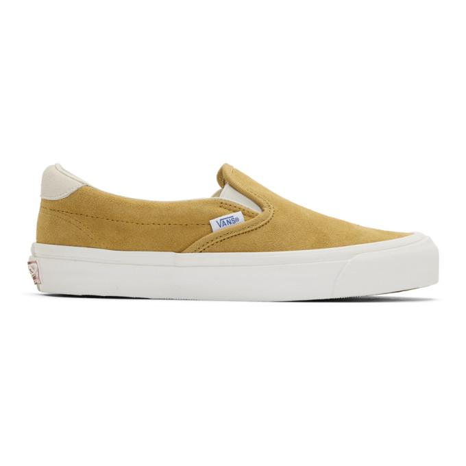 Photo: Vans Yellow Suede OG 59 LX Slip-On Sneakers