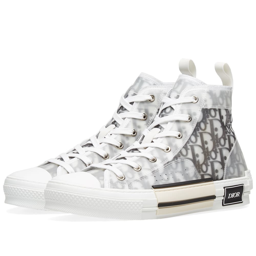 Dior Homme B23 Allover Logo High Sneaker