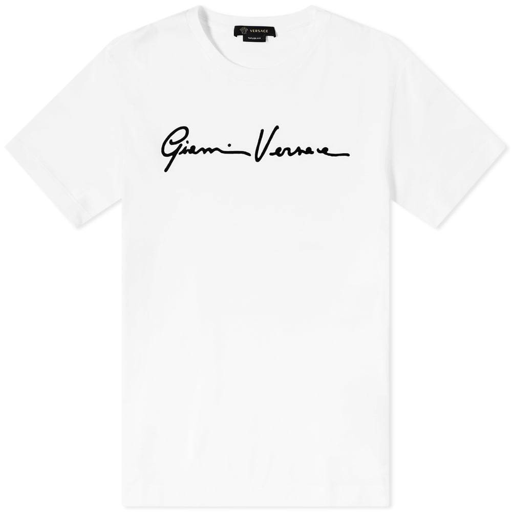 Photo: Versace Gianni Signature Logo Tee