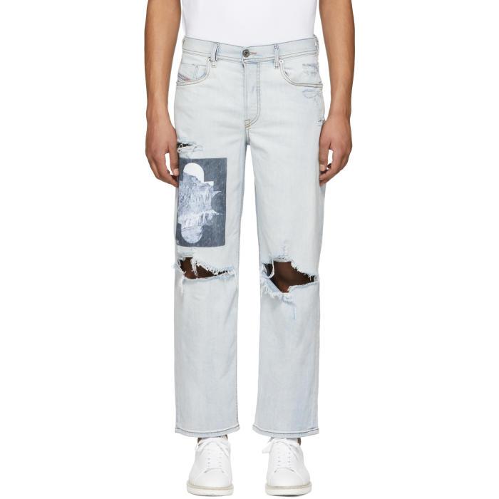 Photo: Diesel Blue Dagh Jeans