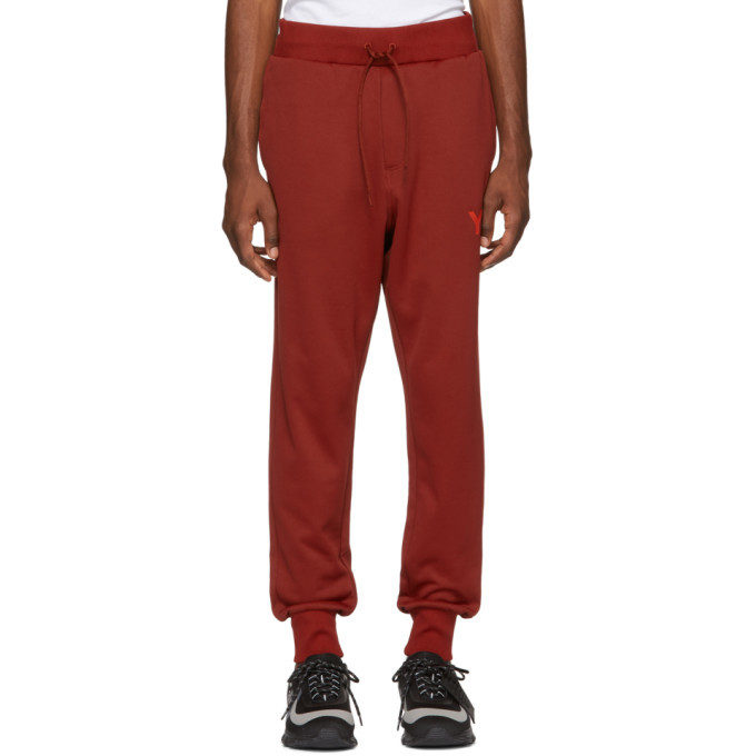 Photo: Y-3 Red Classic Track Pants