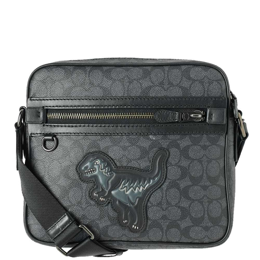 Photo: Coach Rexy Signature Dylan Mini Messenger Bag