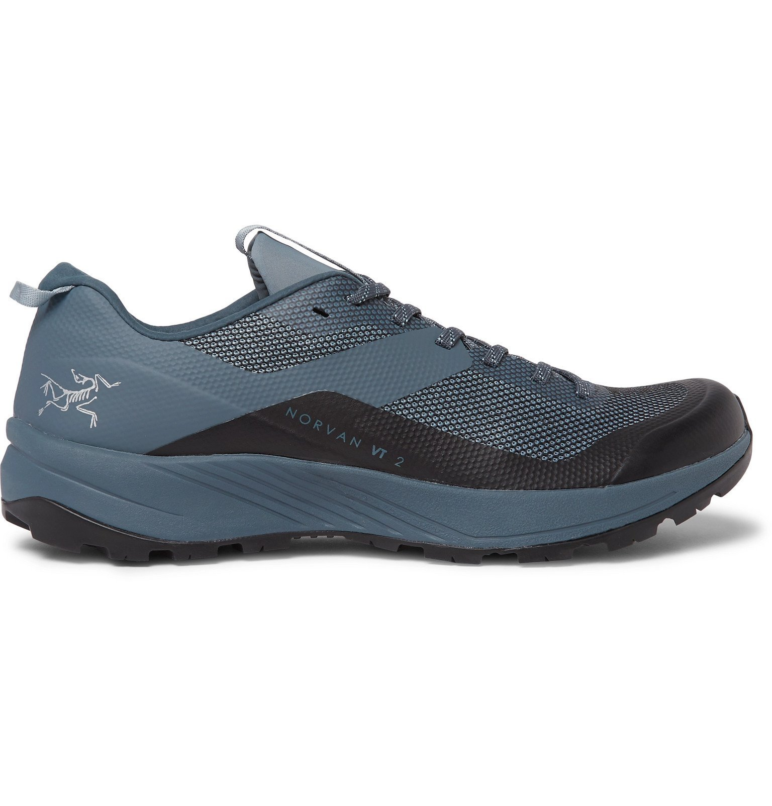 Photo: Arc'teryx - Norvan VT 2 Mesh and Rubber Running Sneakers - Blue