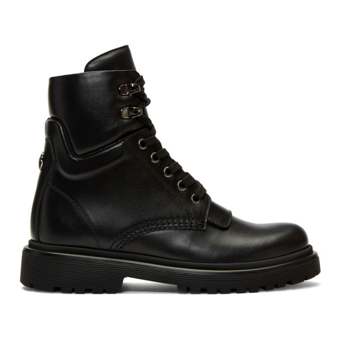 Photo: Moncler Black Patty Ankle Boots