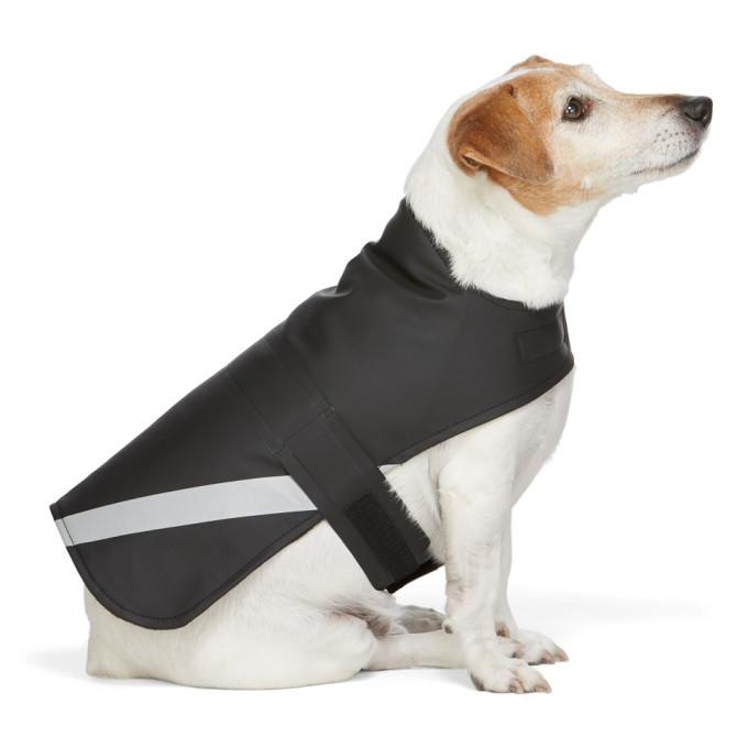 Photo: Stutterheim SSENSE Exclusive Black PVC Lightweight Dog Raincoat