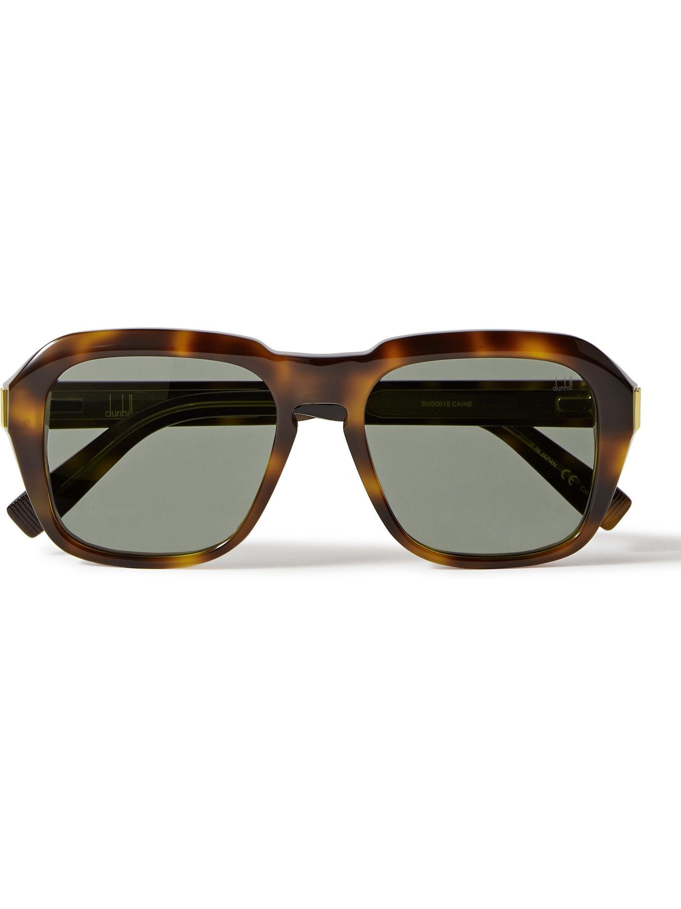 DUNHILL - Round-Frame Tortoiseshell Acetate Sunglasses