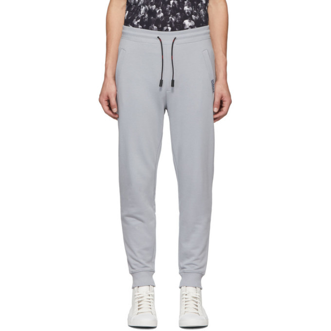 Photo: Hugo Grey Reversed Logo Doak193 Lounge Pants