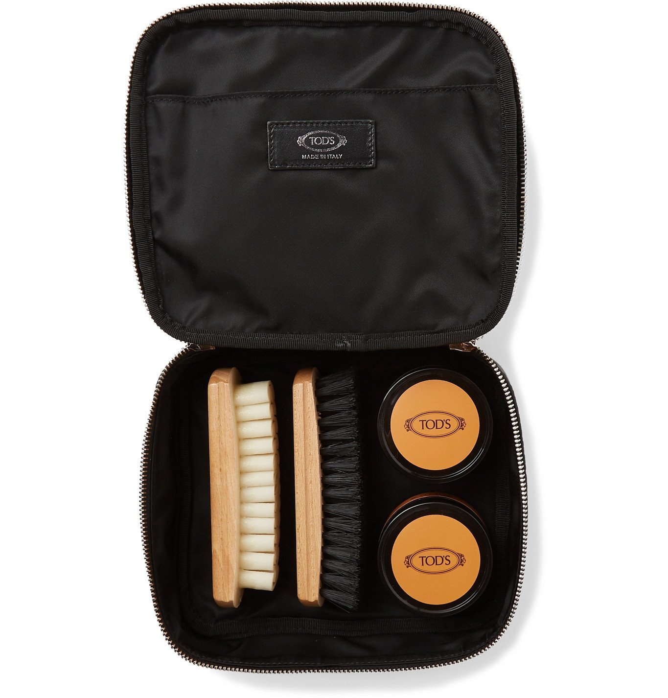 Photo: Tod's - Full-Grain Leather Shoe Care Kit - Black