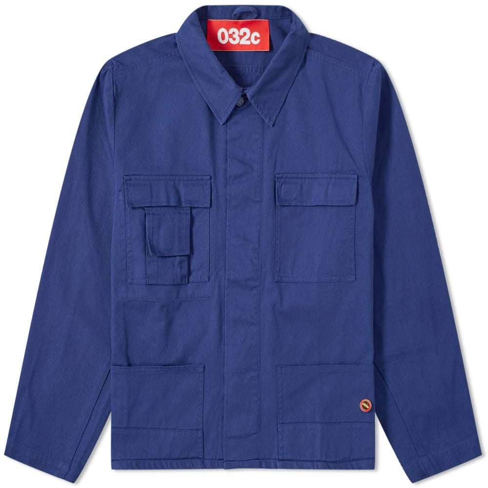 Photo: 032c Workers Jacket Blue