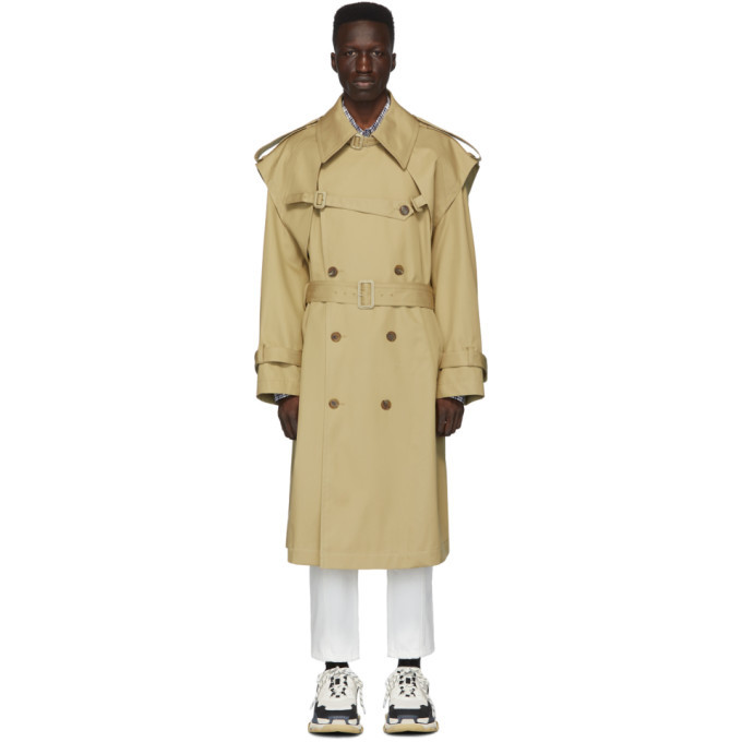 Photo: Juun.J Beige Trench Coat