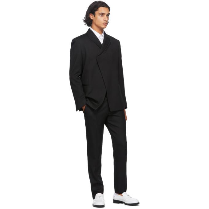 1017 ALYX 9SM Black Stirrup Suit Trousers