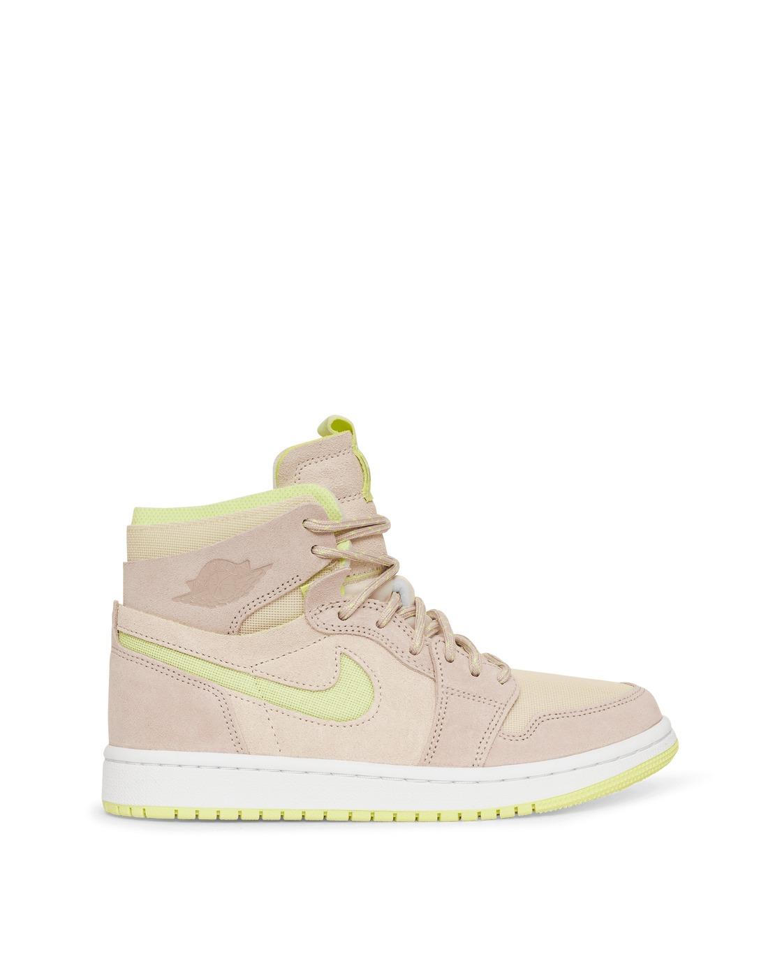 Photo: Nike Jordan Air Jordan 1 Zoom Air Comfort Sneakers Pearl White/Fossil
