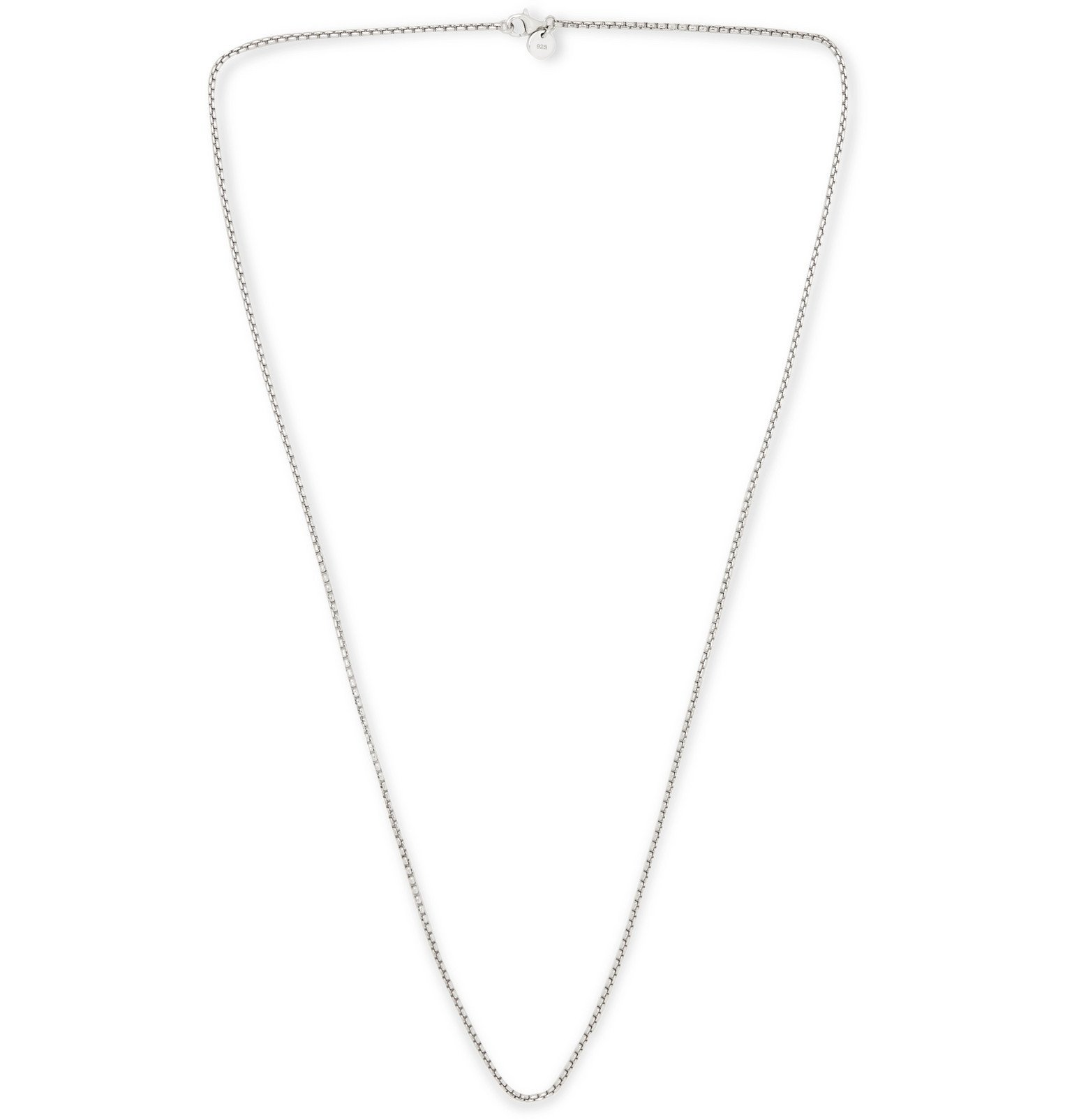 Photo: Tom Wood - Venetian Sterling Silver Necklace - Silver