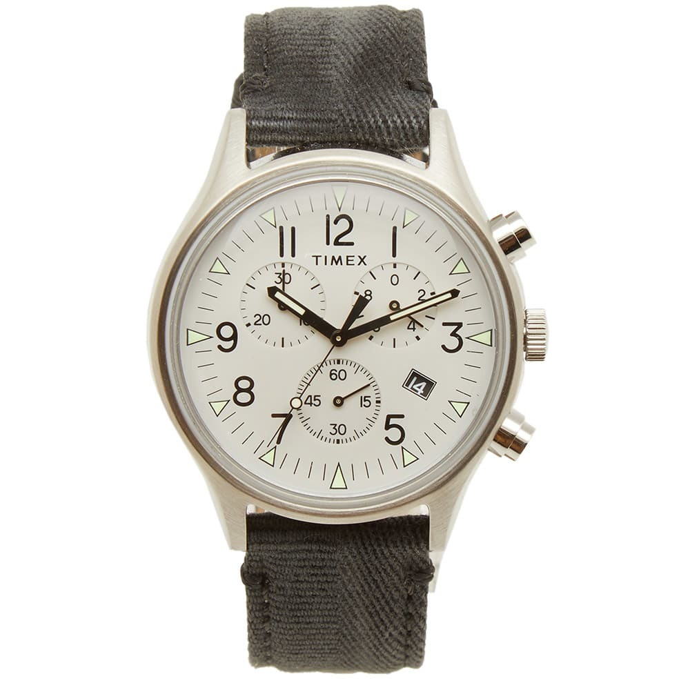 Photo: Timex MK1 SST Chronograph Steel Watch